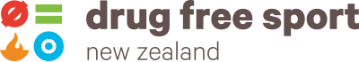 Drug Free Sport New Zealand Logo